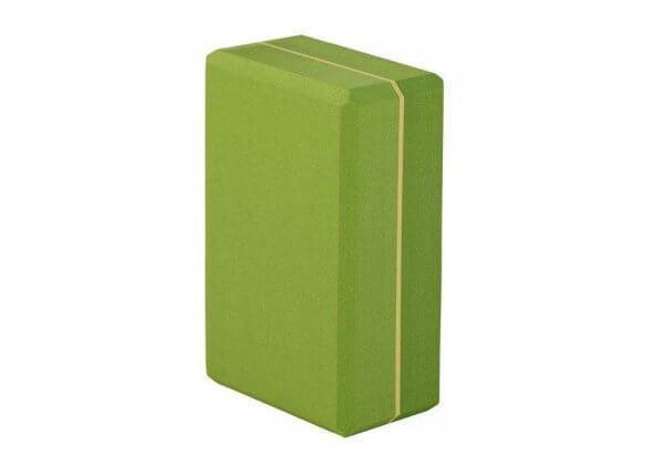 Кирпич для йоги Asana Brick XXL зелёный.