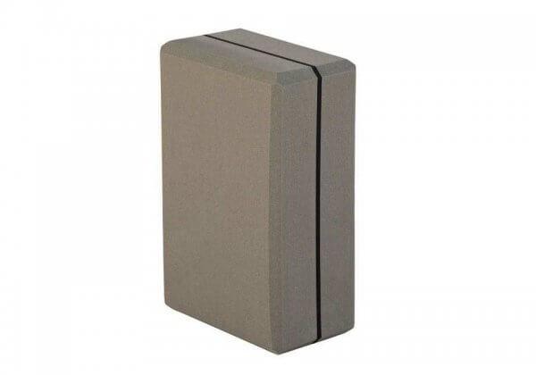 Кирпич для йоги Asana Brick XXL серый.