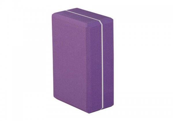 Кирпич для йоги Asana Brick XXL фиолетовый.