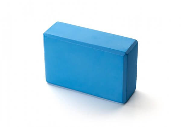 Кирпич для йоги Kurma Standard голубой.