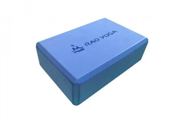 Кирпич для йоги Rao синий.