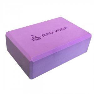 Кирпич для йоги Rao фиолетовый.