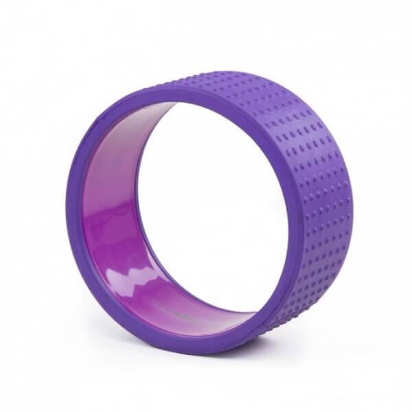 Колесо для йоги Samsara Premium фиолетовое.