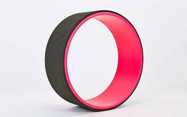 Колесо для йоги Yoga Wheel чёрное.