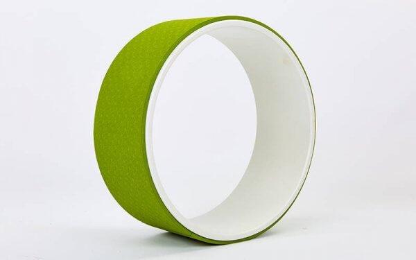 Колесо для йоги Yoga Wheel зелёное.