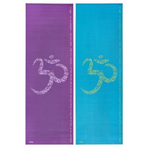 Коврик для йоги Leela OM Mantra.
