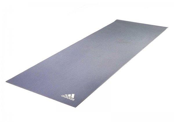 Коврик для йоги Adidas 4 мм серый.