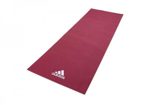 Коврик для йоги Adidas 4 мм розовый.