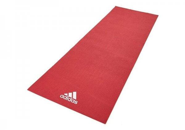 Коврик для йоги Adidas 4 мм красный.