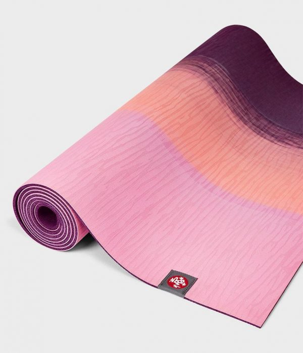 Коврик для йоги eKO Lite Fuchsia Stripe.