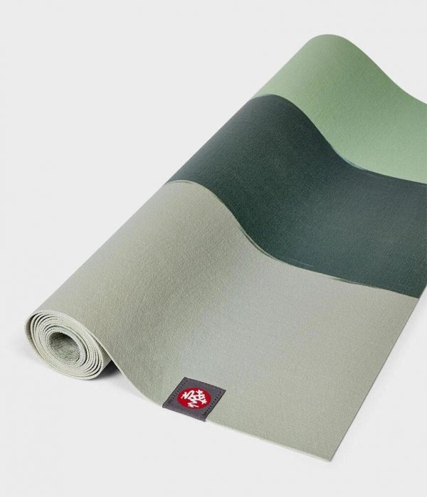 Коврик для йоги eKO SuperLite Mat Green Ash Stripe Manduka.