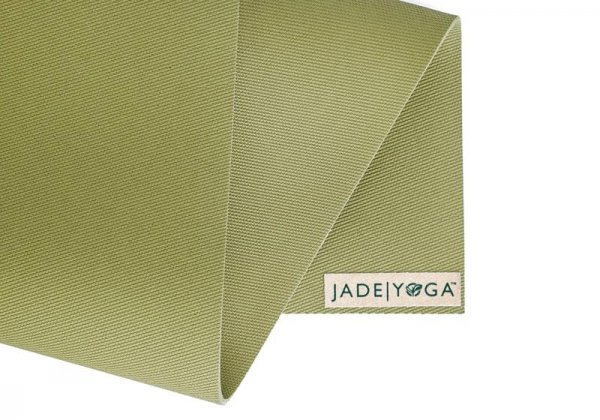 Коврик для йоги Fusion Jade зелёный.
