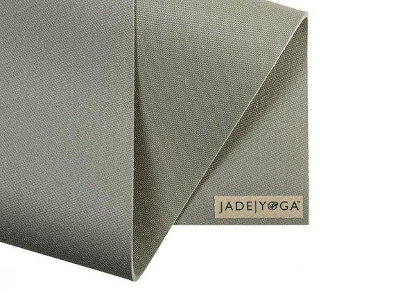 Коврик для йоги Fusion Jade серый.