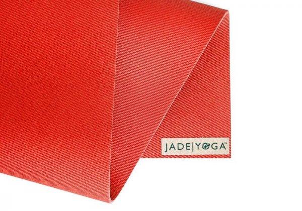 Коврик для йоги Fusion Jade красный.