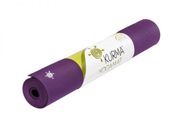 Коврик для йоги Grip фиолетовый.