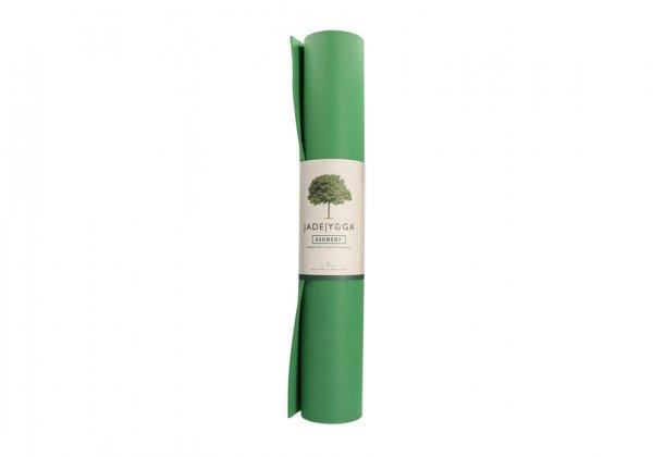 Коврик для йоги Harmony Jade зелёный.