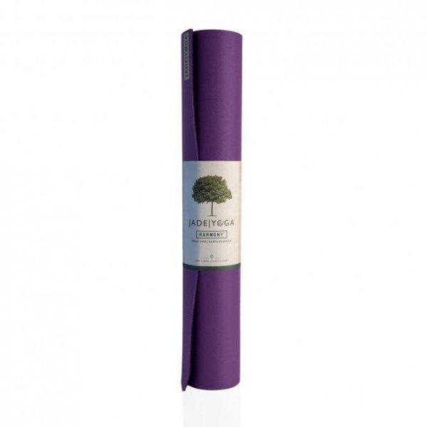 Коврик для йоги Harmony Jade фиолетовый.