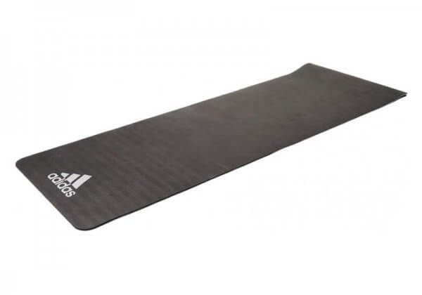 Коврик для йоги и фитнеса Adidas 6 мм серое.