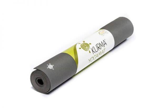Коврик для йоги Lite Grip антрацит.