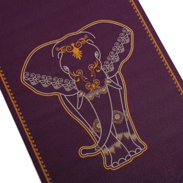 Коврик для йоги Leela Big Elephant.