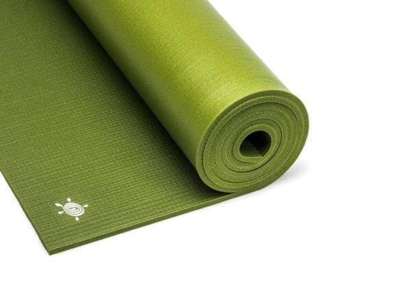 Коврик для йоги Light Master зелёный.