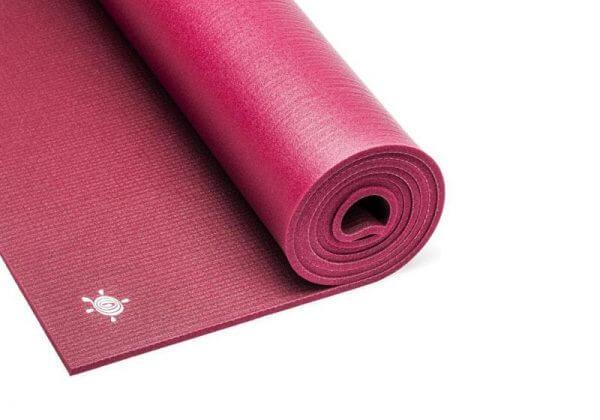 Коврик для йоги Light Master красный.