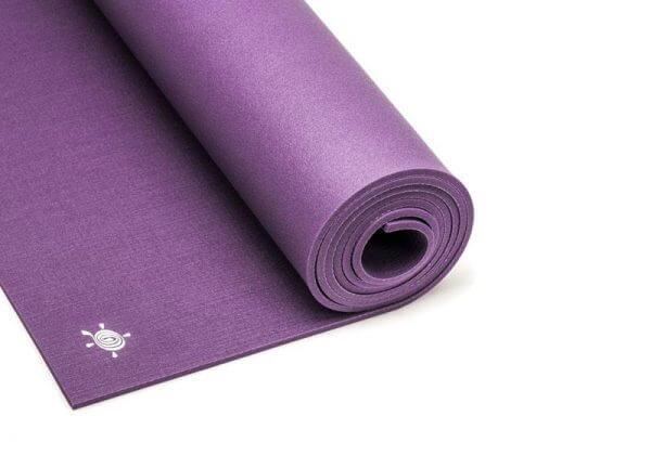 Коврик для йоги Light Master фиолетовый.