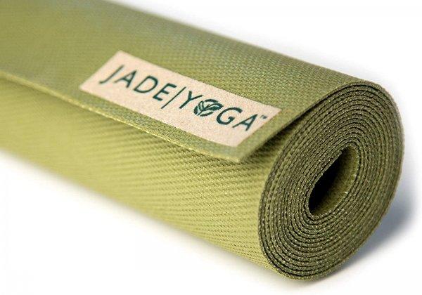 Коврик для йоги Voyager Jade зелёный.
