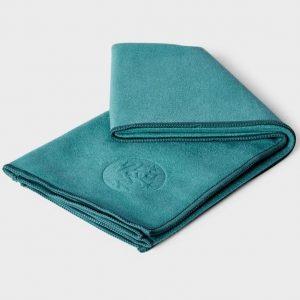 Коврик-полотенце для йоги eQua Mat Towel Tropical Surf Manduka.