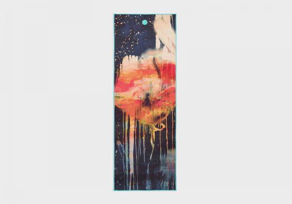 Коврик-полотенце для йоги Yogitoes Floral Manduka.