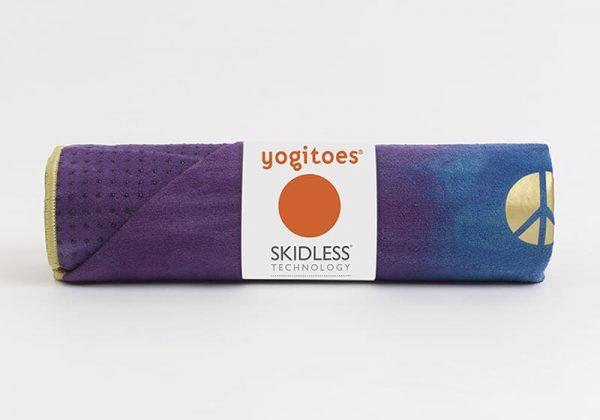 Коврик-полотенце для йоги Yogitoes Peacock Manduka.