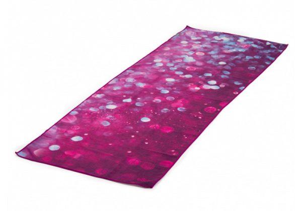 Йога-полотенце Drops of Peace от Bodhi.