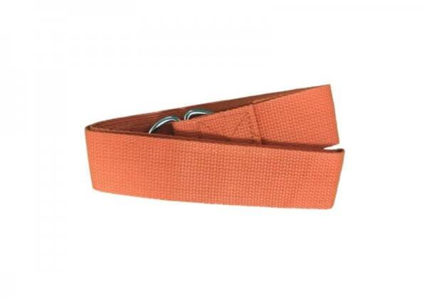 Ремень для йоги Rao оранжевый.