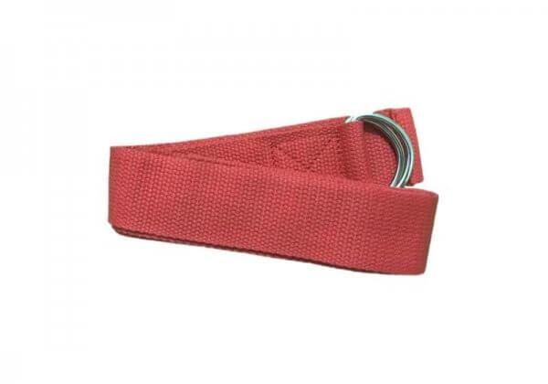 Ремень для йоги Rao красный.