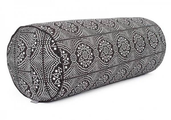 Валик для йоги Maharaja Bodhi чёрный.
