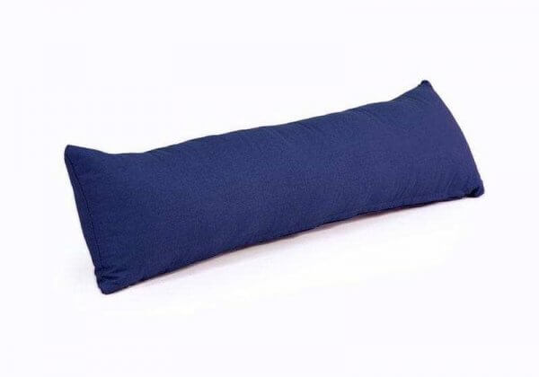 Валик-подушка для йоги Pranayama Bodhi синий.
