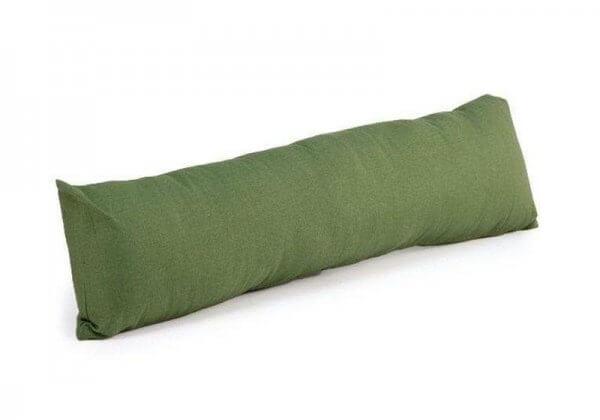 Валик-подушка для йоги Pranayama Bodhi зелёный.