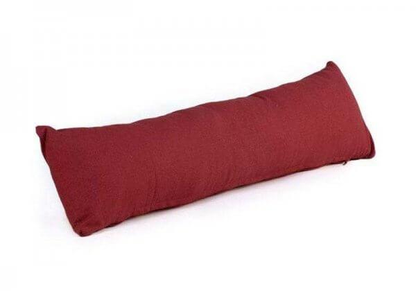 Валик-подушка для йоги Pranayama Bodhi красный.