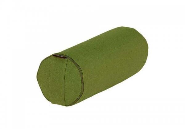 Валик для йоги BASIC зелёный.