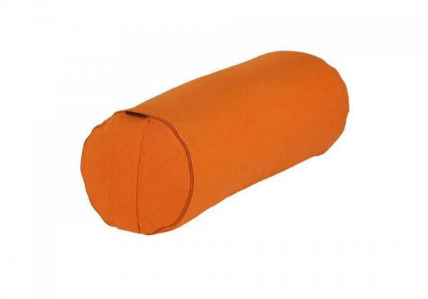 Валик для йоги BASIC оранжевый.